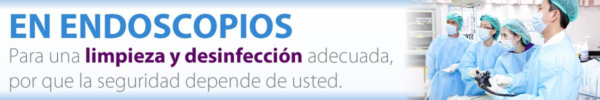 Reprocesamiento de endoscopios de modo manual o automático