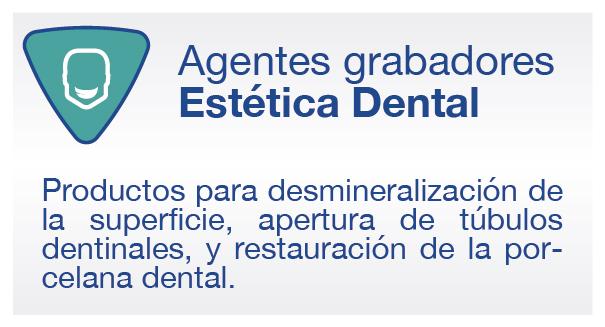 productos agentes grabadores y estética dental