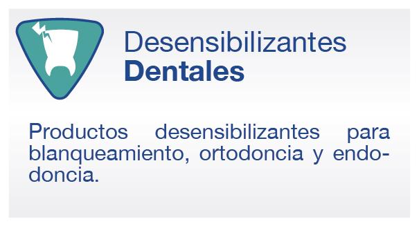 Desensibilizantes Dentales