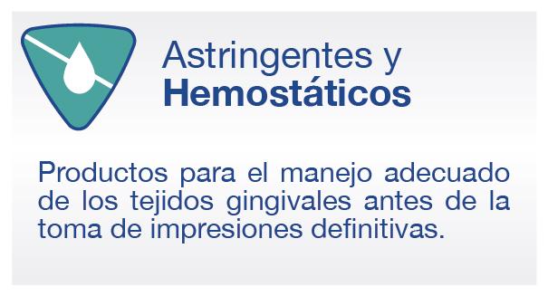 productos astringentes y hemostaticos