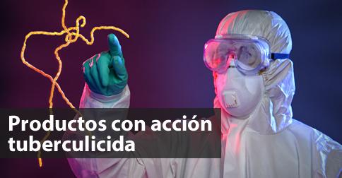 Productos con acción tuberculicida