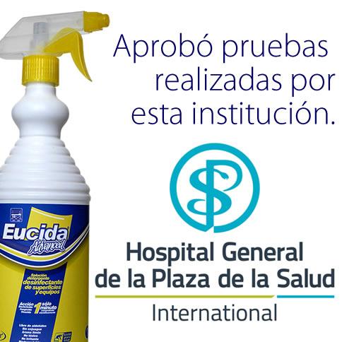 Eucida Advanced Desinfectante dual nivel intermedio