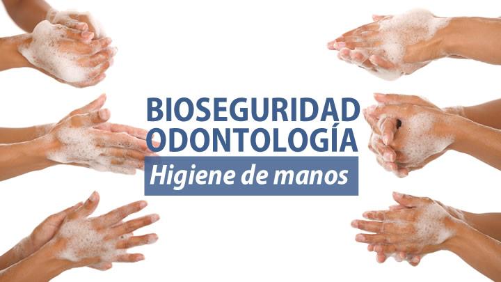 Higiene de manos en odontología.