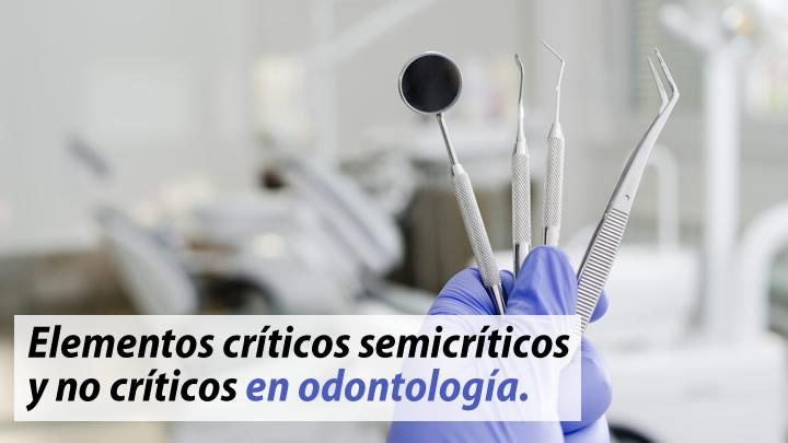 Elementos criticos semicriticos y no criticos