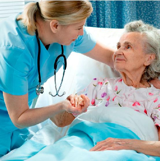 cuidados del paciente y la institución.