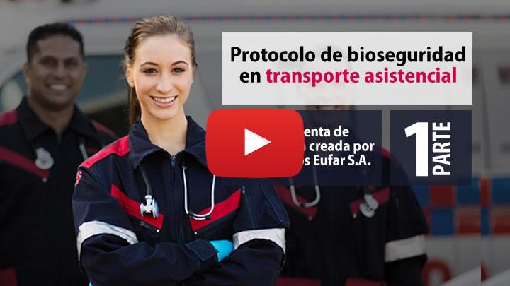 bioseguridad en servicios de transporte asistencial (TAB TAM TAE)
