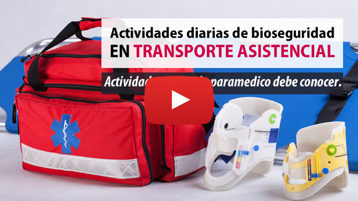 protocolo y productos de limpieza y desinfección para ambulancias