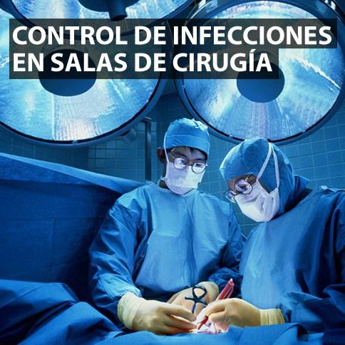 Bioseguridad en salas de cirugía