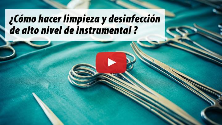 Protocolo de cuidado del instrumental