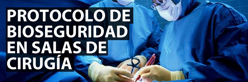 control de infecciones en salas de cirugia