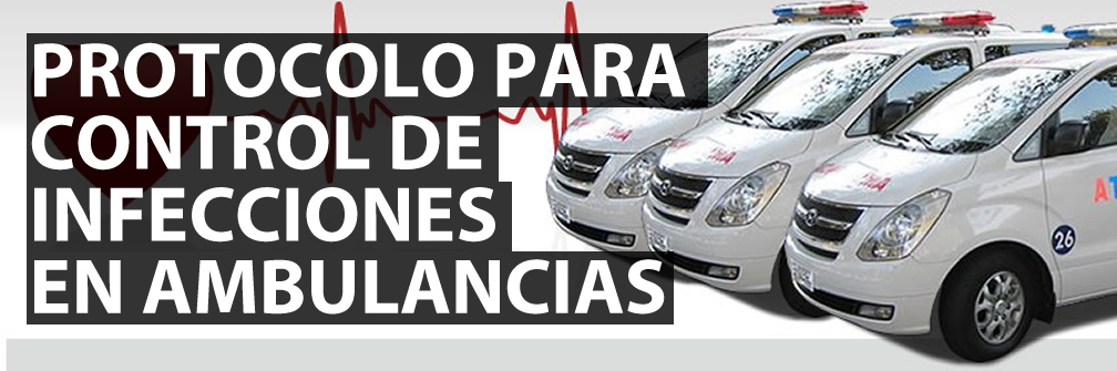 bioseguridad en ambulancias